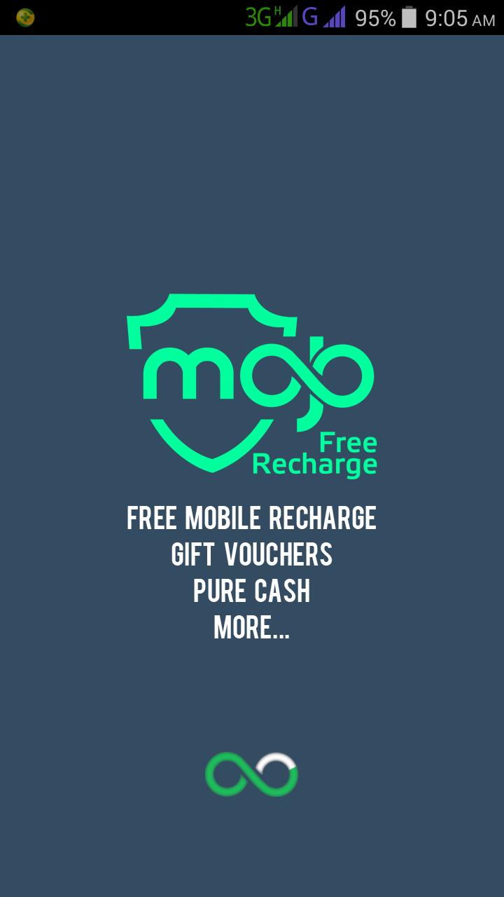 Mojo free Recharge app
