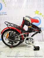 Sepeda Lipat Darson 6 Speed 16 Inci
