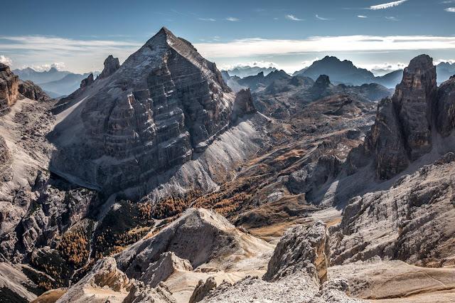 Panorama Monte Ciaval Bozen Luns