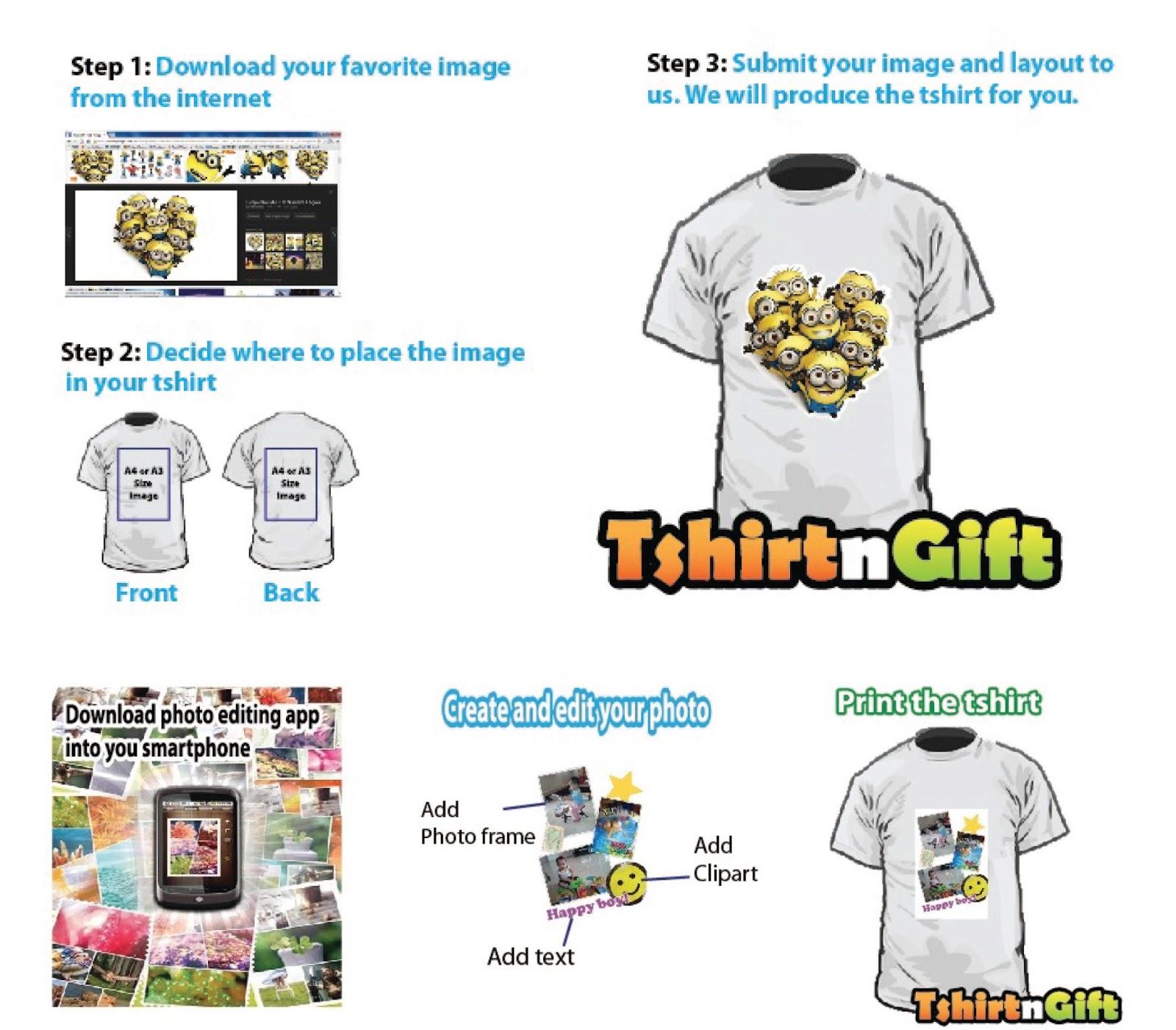 Tshirt Printing Mug Printing In Kl Button Badge Heat Transfer