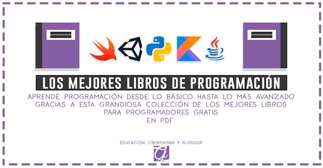 los mejores libros sobre programación en pdf gratis 2019