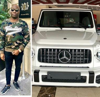 Nigeria big boy Mustapha acquires Mercedes G wagon 2019 edition (Photos