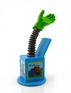 toy story sid's mutant hand in box