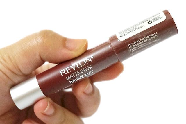 Revlon ColorBurst Matte Balm in Fierce