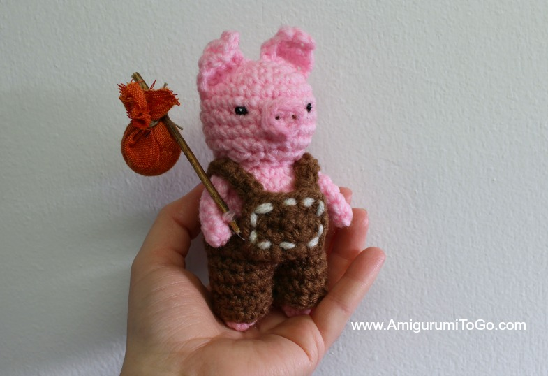 Pig Amigurumi To Go : Three Little Pigs ~ Amigurumi To Go