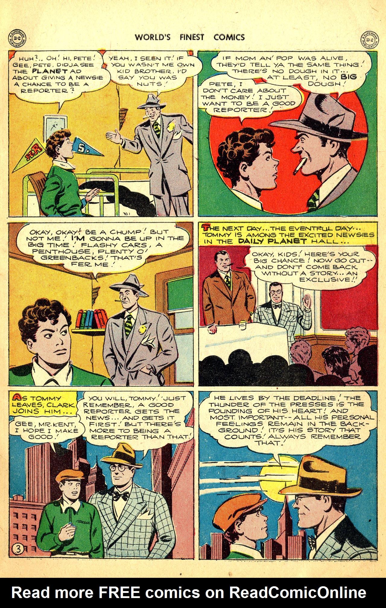 Read online World's Finest Comics comic -  Issue #18 - 5