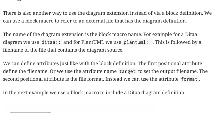 Awesome Asciidoctor Use Diagram Block Macro To Include Diagrams