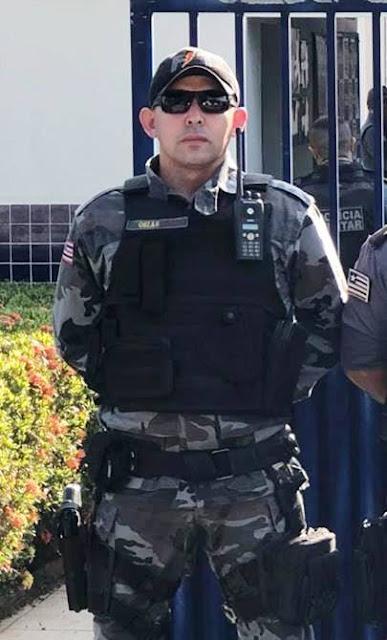 Motorista atropela e mata soldado do 16º BPM de Chapadinha durante barreira policial em Urbano Santos, o motorista já está preso.
