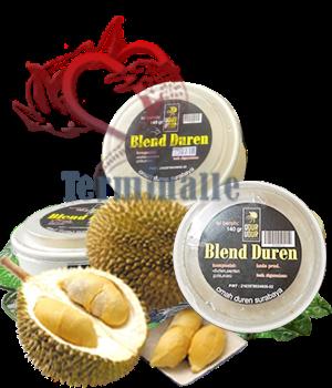 Udur Udur Ice cream Buah Durian