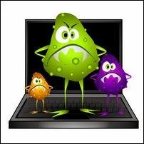 Потеря информации (компьютерные вирусы)