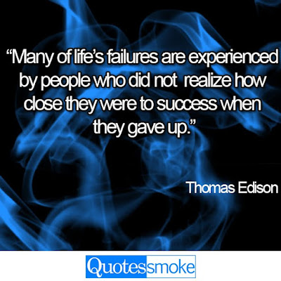 Thomas Edison Life Quotes