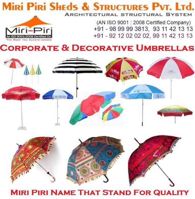 Manufacturer of Corporate Umbrella Branding, Market Umbrellas, Promotional Umbrella, Advertising Umbrellas, New Delhi