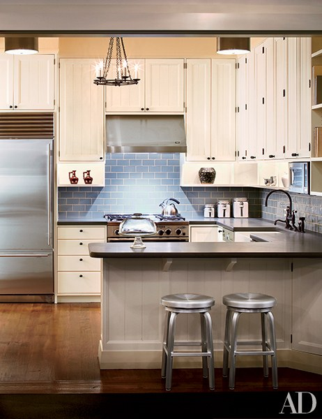 Beautiful country farmhouse kitchen in Architectural Digest on pinterest