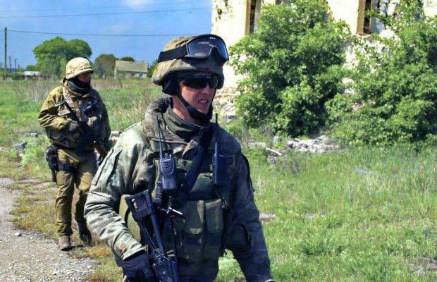 Командир 1-го батальону 95-ї аеромобільної бригади підполковник Тарас Сенюк