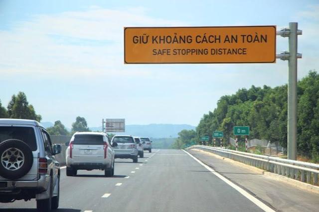 Đoạn cao tốc đi qua huyện Bình Sơn
