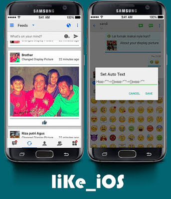 BBM Like iOS APK v3.1.0.13 MOD Terbaru (BBM New Style)