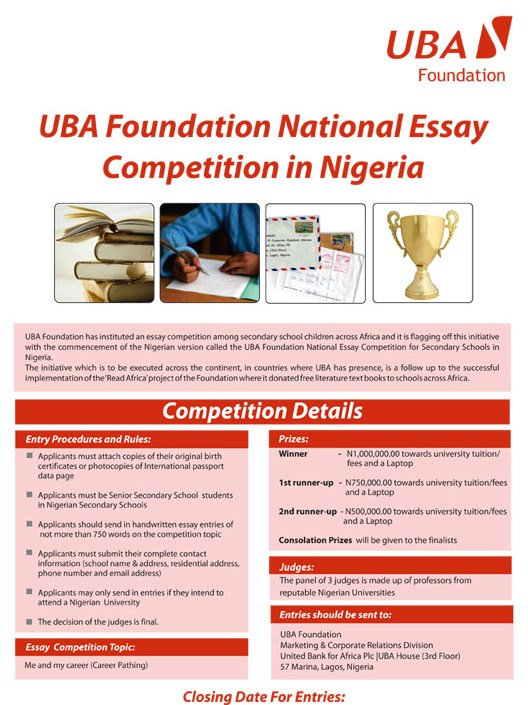 National Bookstore Essay Writing Contest – 327460