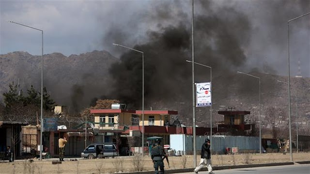 Casualties as Taliban let bombers loose on Kabul