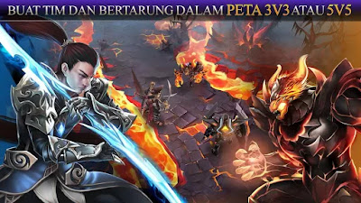Heroes of Order & Chaos Apk v3.5.1c Mod(Damage/Unlimited Money+Data)