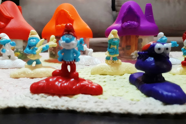 McDo, Smurfs, Happy Meal toys, Papa Smurf