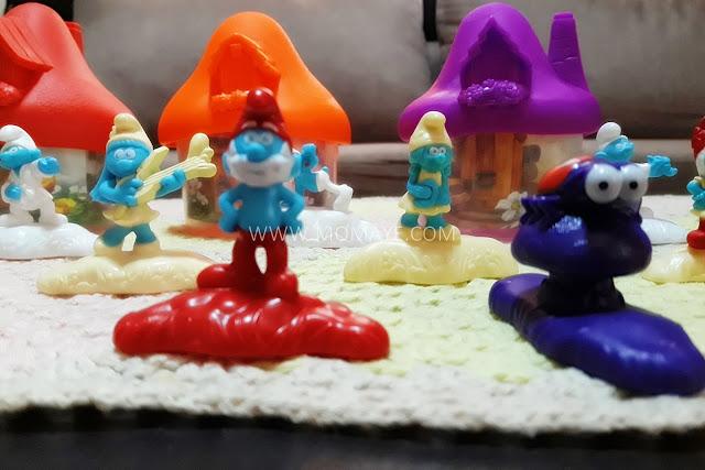 McDo, Smurfs, Happy Meal toys, Papa Smurf