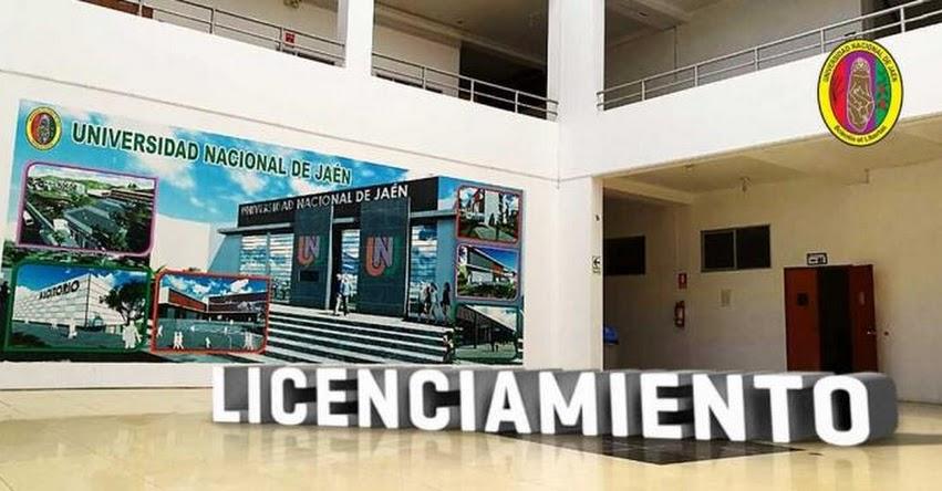 SUNEDU otorga licenciamiento institucional a la Universidad Nacional de Jaén - www.sunedu.gob.pe