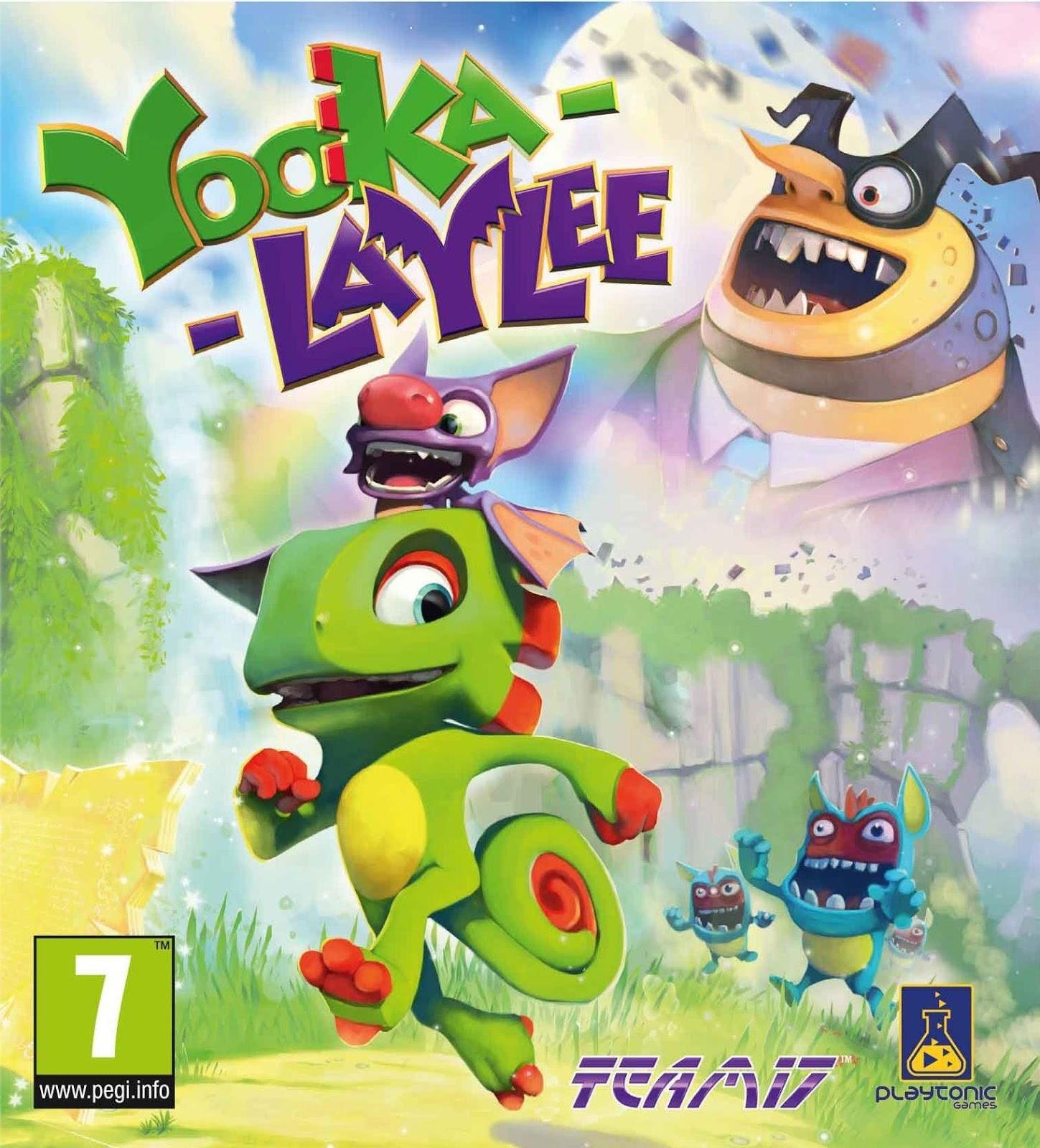 Yooka-Laylee ESPAÑOL PC Full