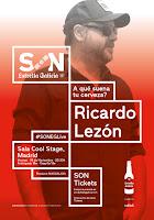Concierto de Ricardo Lezón en la Cool Stage
