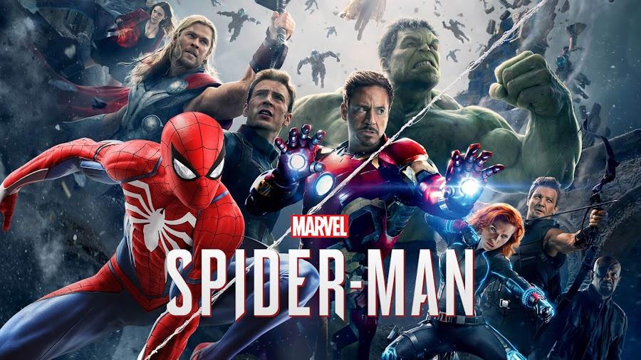 spider man ps4 marvel games universe avengers