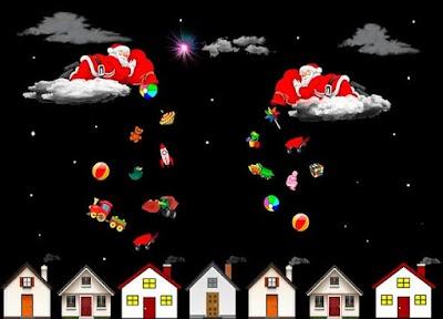 Donde esta ahora Papa Noel, habla con el por Chat