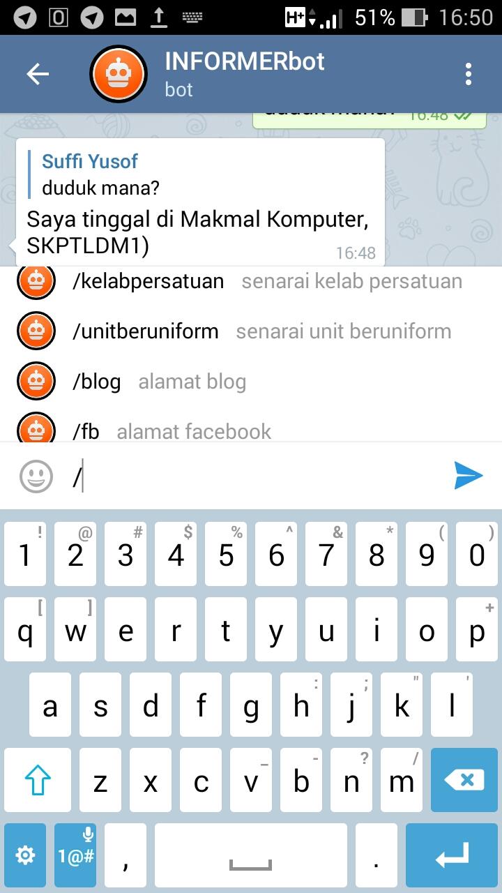 Cara mencari channel di telegram