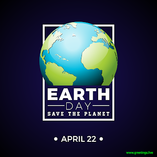 April 22 World Earth Day Save The Planet