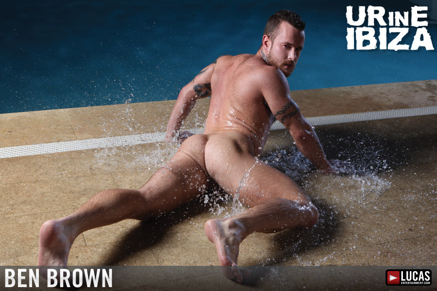 Ben brown nude centerfold