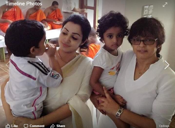Kaushal Mondavi With Mother