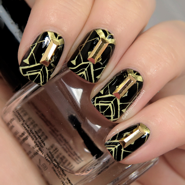 Nail Art The Digit Al Dozen Does Decades 1920s Art Deco Nails