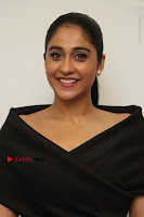 Actress Regina Candra Pos in Beautiful Black Short Dress at Saravanan Irukka Bayamaen Tamil Movie Press Meet  0001.jpg