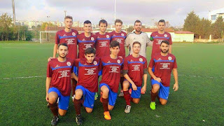Η ανδρική ομάδα της ακαδημίας ποδοσφαίρου θεσαλλονίκης