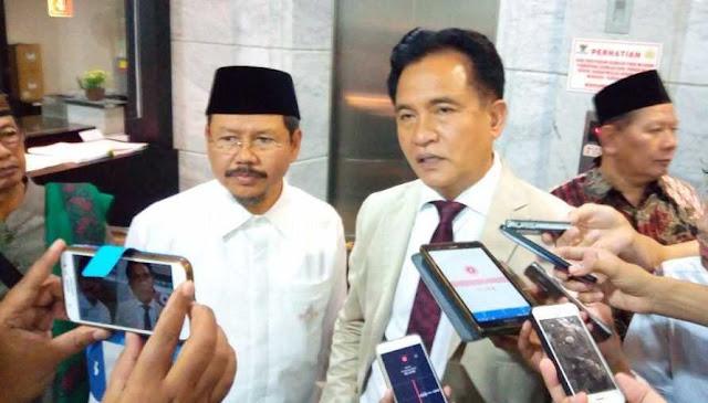 Yusril Bantah Dirinya Masuk Timses Jokowi – Ma'ruf