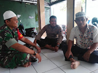 Jalin Kerukunan Hidup Beragama Babinsa Koramil 05 Pasar Kliwon Silaturohmi Dengan Tokoh Agama