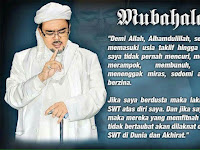 Hati-Hati Wahai Ahokers Azab  MUBAHALAH Atas Para Pemfitnah Habib Rizieq