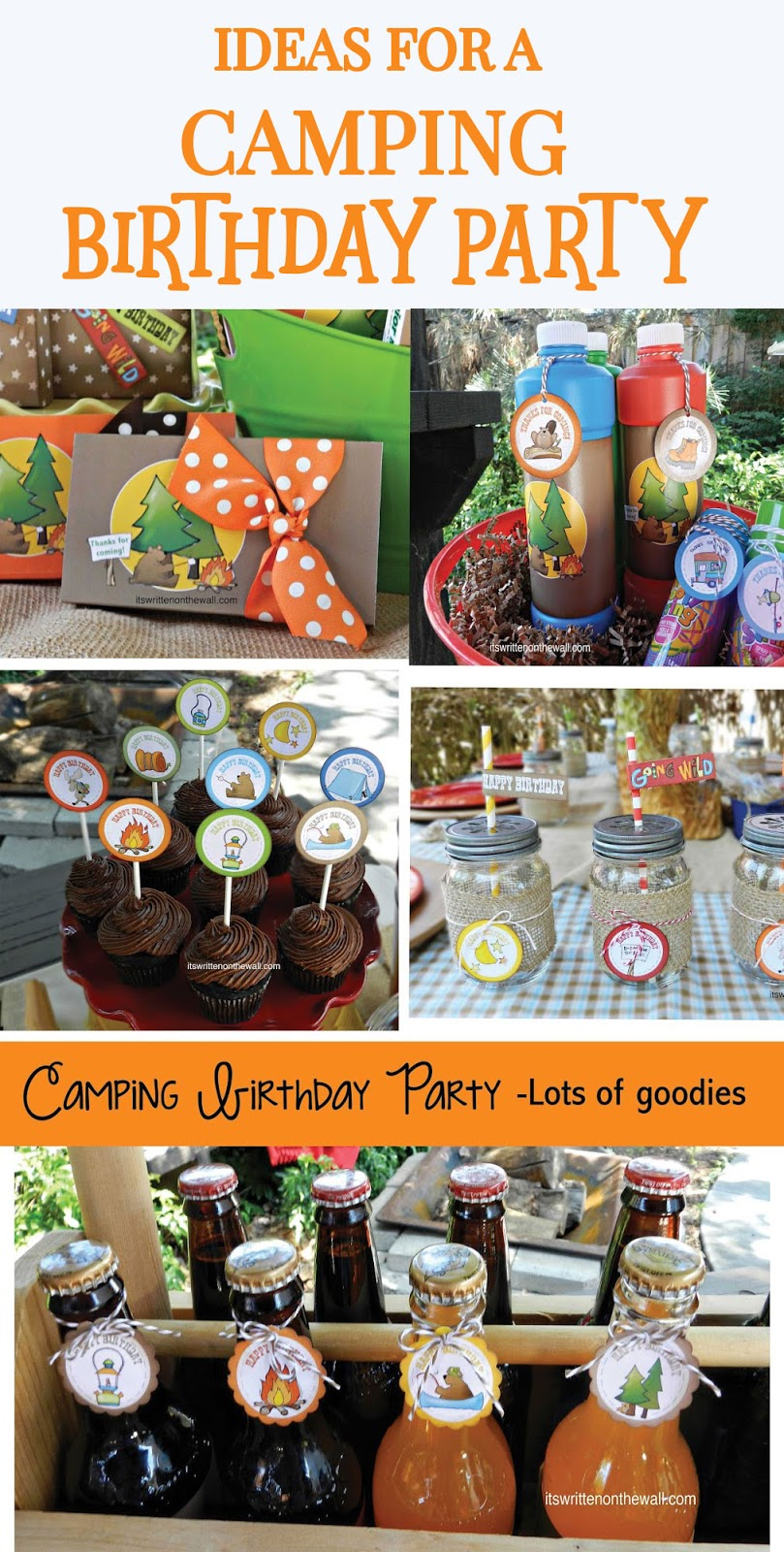 Camping Christmas In July Ideas.It S Written On The Wall Outdoor Party The Perfect Camping