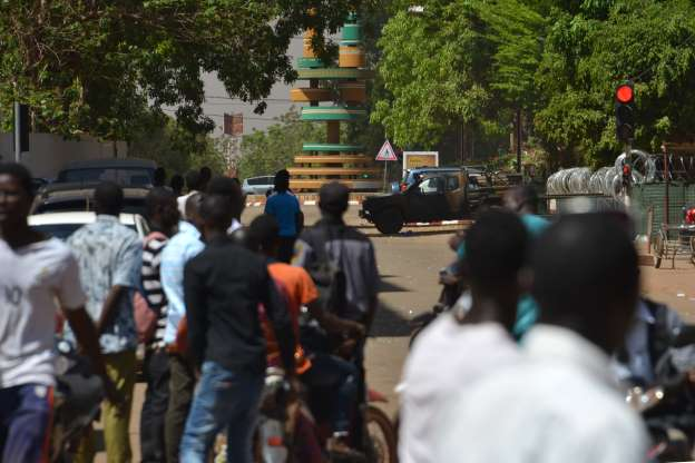 Gunmen attack French embassy and army headquarters in Burkina Faso