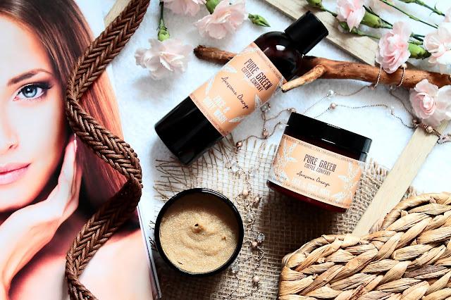 Awesome Orange - kosmetyki dla koneserów od Pure Green Coffee