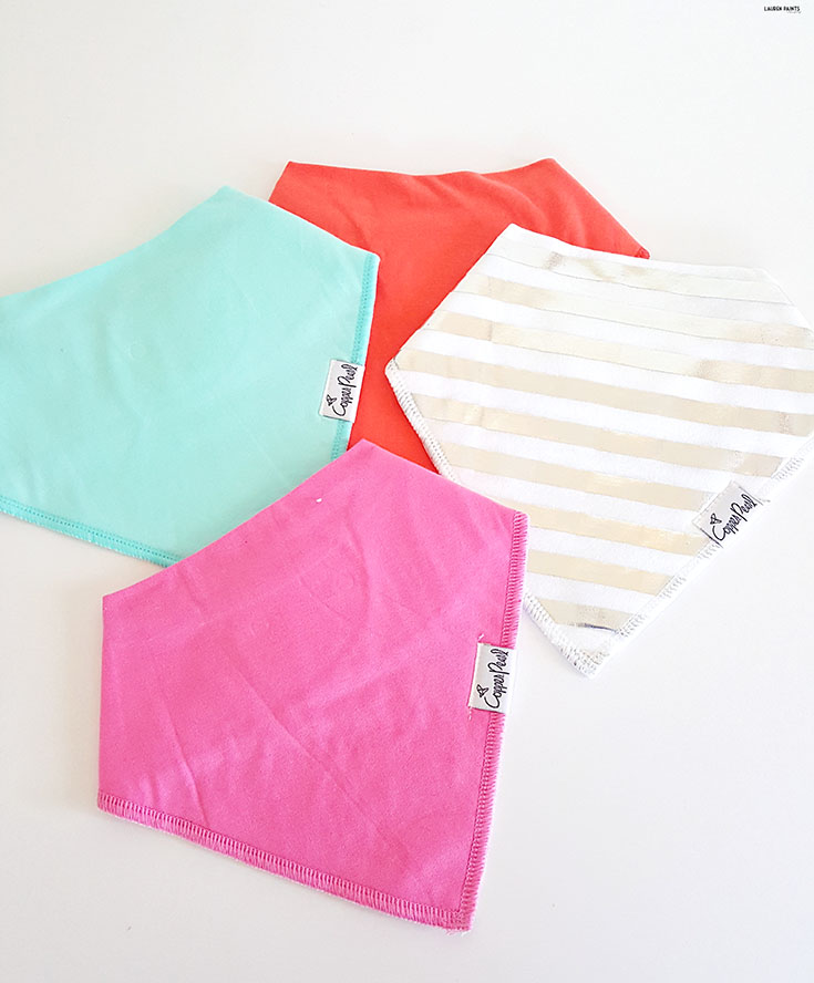 Keep yourself and your little one looking adorable with functional accessories! Check out Copper Pearl and the cutest selection of bandana bibs and car seat/nursing covers!
