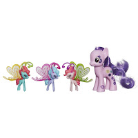 MLP Cutie Mark Magic Friendship Flutters Buttonbelle Brushable