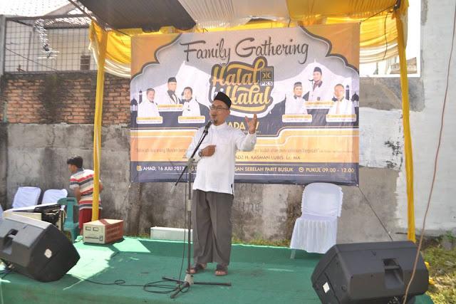 Yang Berbeda Dari Acara Halal Bi Halal CADA IV  PKS Kota Medan