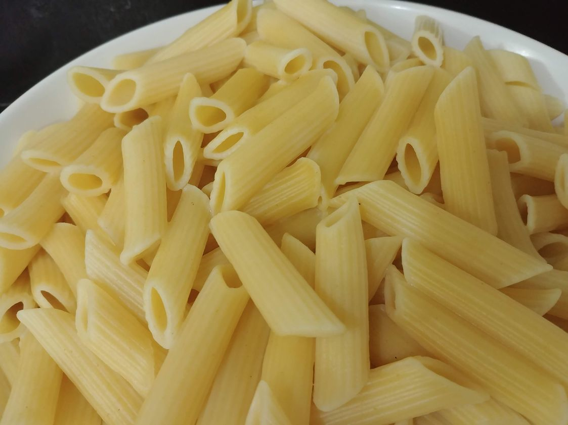 Penne pasta to be used for the Chorizo and Tomato Pasta recipe