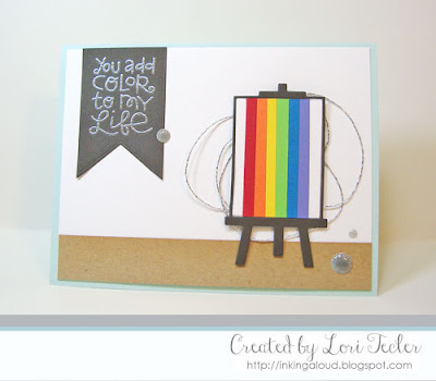 You Add Color to My Life card-designed by Lori Tecler/Inking Aloud-stamps and dies from Paper Smooches