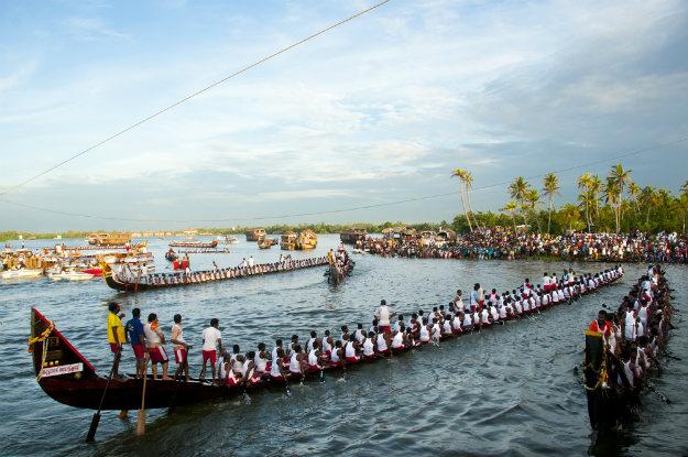 Champakulam Boat Race (Snake Boat Race) Images