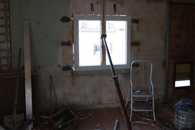 r novation de ma maison ajouter une fen tre. Black Bedroom Furniture Sets. Home Design Ideas